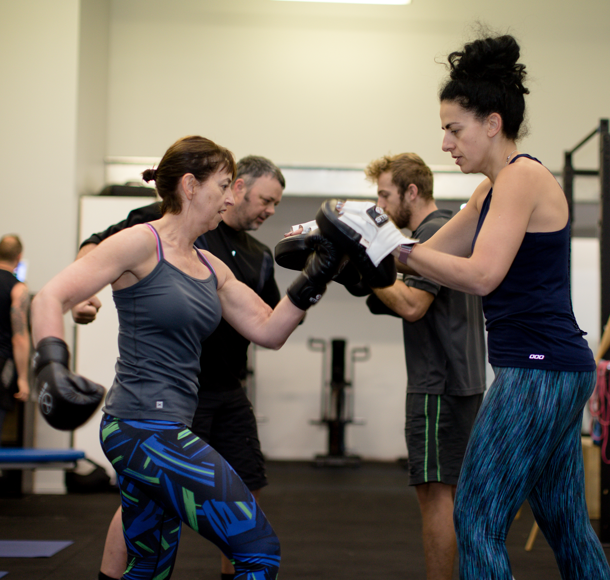 Sage Active Clinic Group Boxing