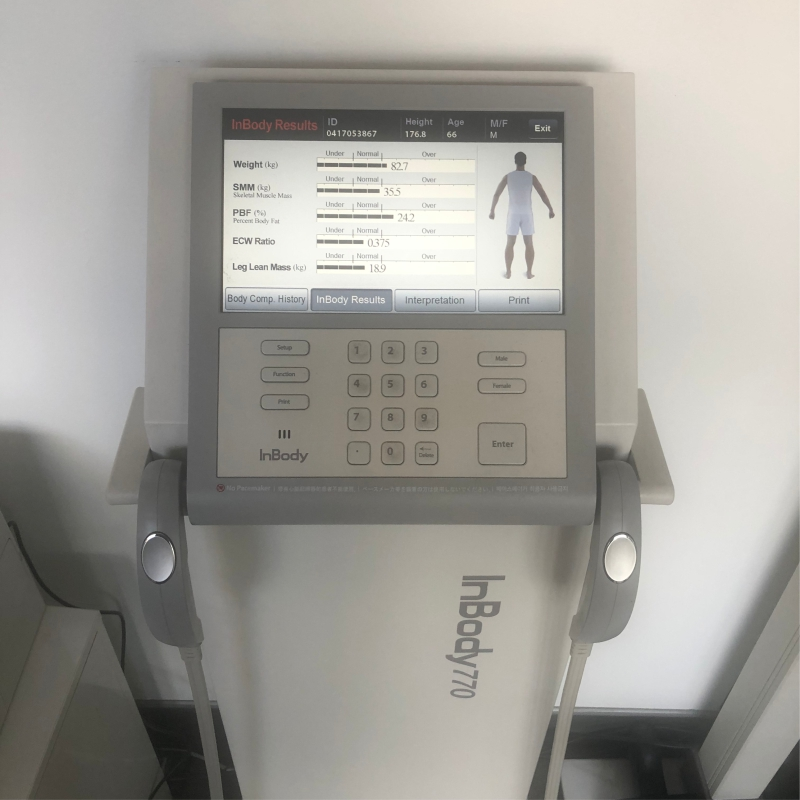 InBody Composition Analyser